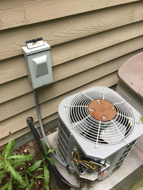 Lake in the Hills, IL - Performing air conditioner cleaning and inspection on 3 units