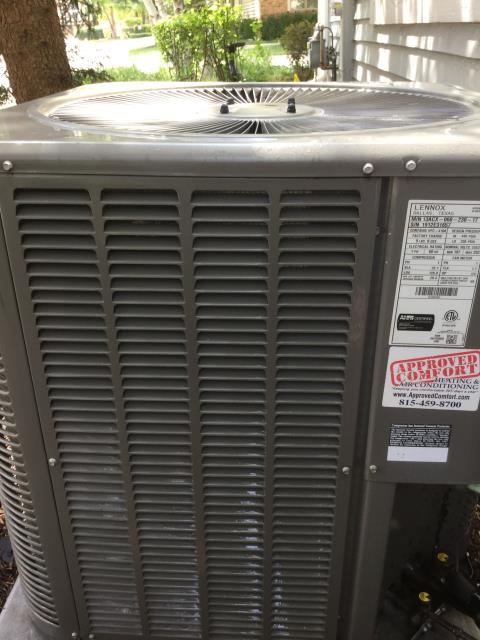 Lake in the Hills, IL - Ac clean and check
