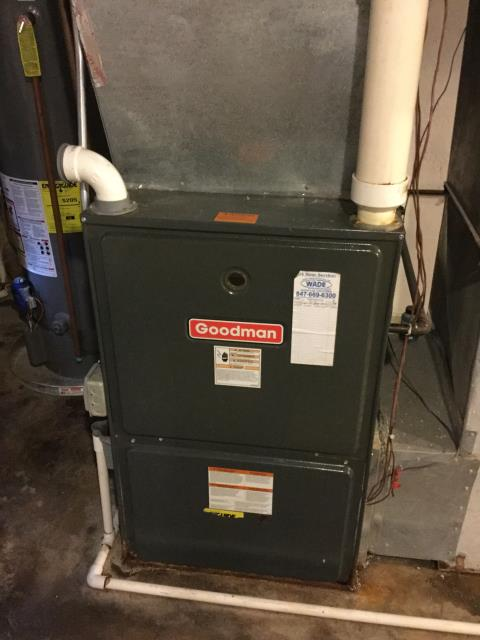 East Dundee, IL - Clean and check 2 furnaces getting ready for the up coming cold weather