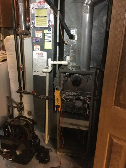 Cary, IL - 12 year old York furnace checkup and safety inspection near you