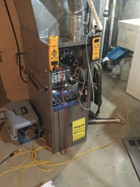 Deerfield, IL - Replaced faulty gas valve on 12 year old York furnace