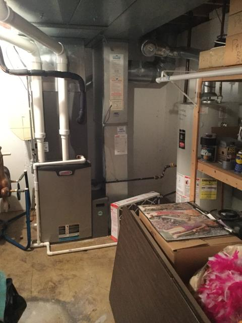 Carol Stream, IL - Proper furnace cleaning and safety inspection of a 5 year old Lennox furnace to keep factory warranties in tact