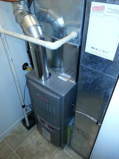 Crystal Lake, IL - No heat for a 4 year old Lennox furnace