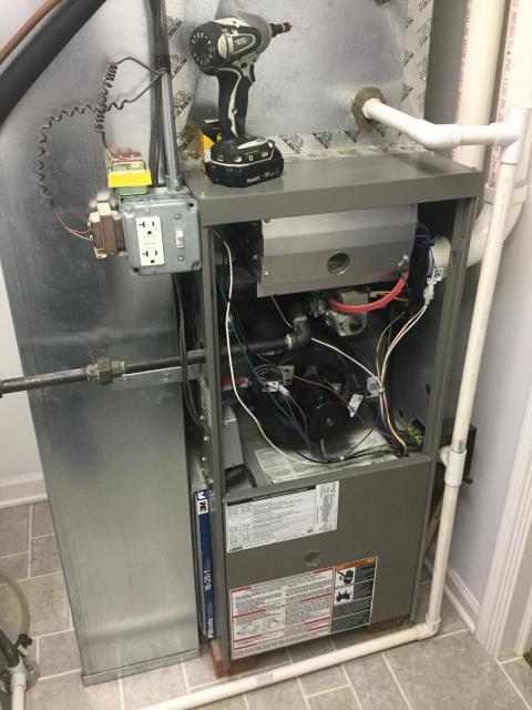 Huntley, IL - Goodman furnace checkup