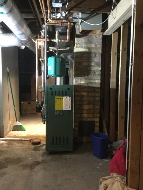East Dundee, IL - Installed 80% boiler for home