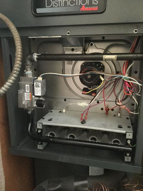 Hoffman Estates, IL - Amana furnace repair under warranty.
