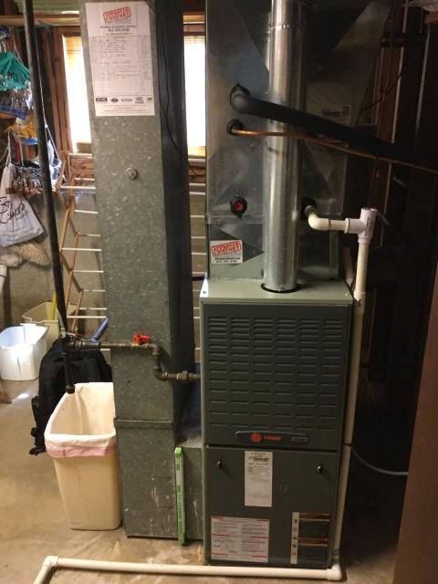 Buffalo Grove, IL - Trane furnace repair