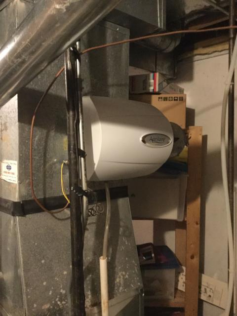 Bartlett, IL - Humidifier install