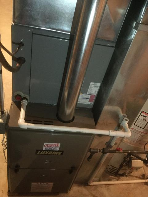 Geneva, IL - New furnace/ac installation