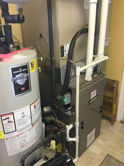 Huntley, IL - Inspect furnace for quality workmanship
