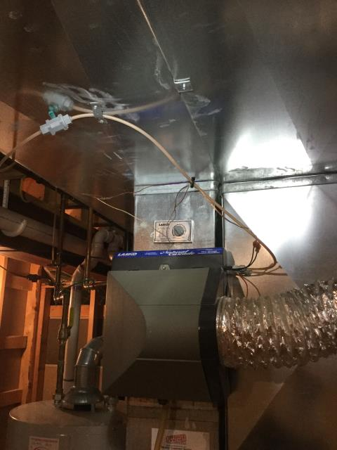 Geneva, IL - Quality assurance inspection on installed furnace and AC.
