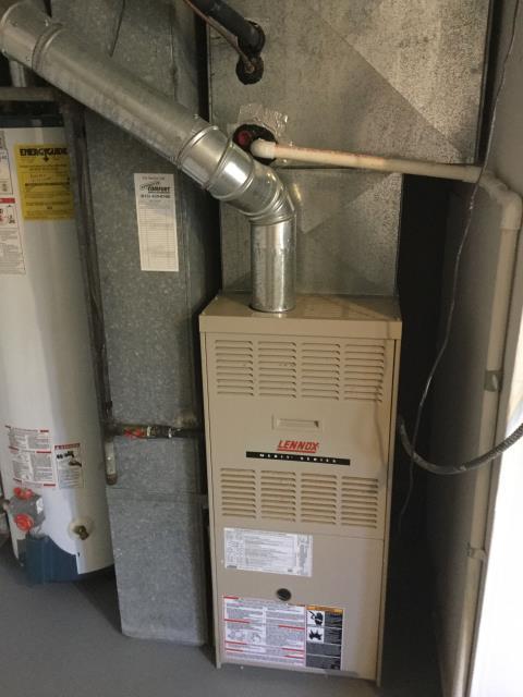 Addison, IL - Lennox furnace safety inspection
