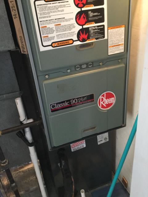 Carol Stream, IL - 8 year old Rheem furnace repair