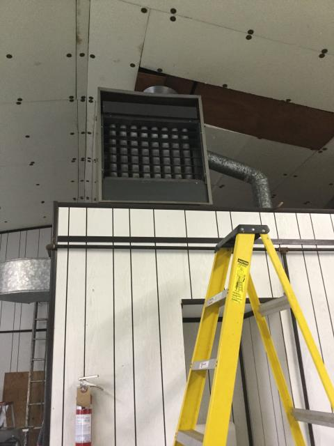 Hampshire, IL - Janitrol unit heater repair