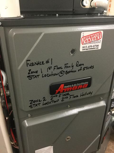 Ingleside, IL - Honeywell zone damper repair