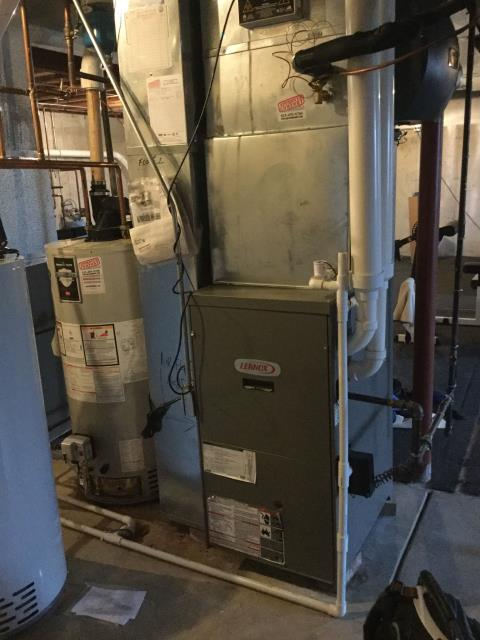 St. Charles, IL - Lennox furnace 12 year old safety inspection