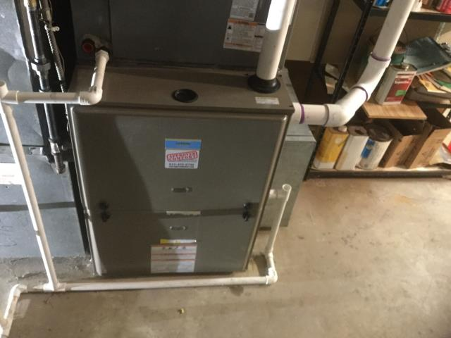 Barrington, IL - Quality inspection of furnace installation