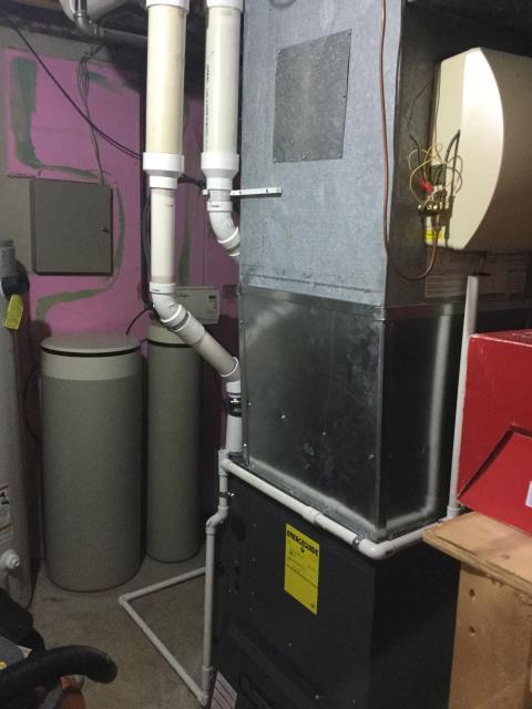 Batavia, IL - 8 year old Amana furnace safety checkup