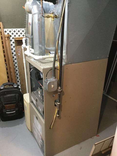 Mount Prospect, IL - 18 year old York furnace maintenance inspection