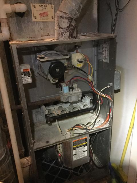 Crystal Lake, IL - Carrier furnace repair