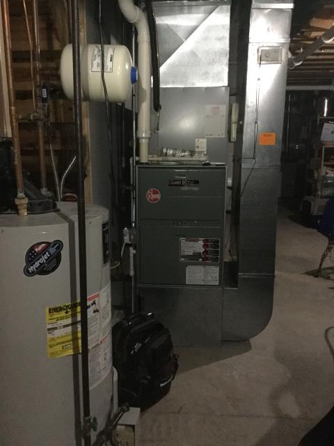 Hampshire, IL - Rheem furnace repair