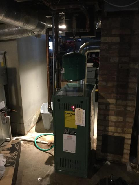 East Dundee, IL - Service on Boiler.