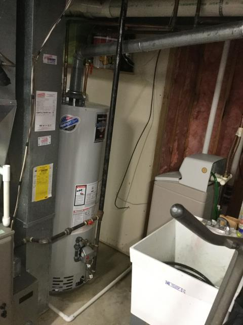 Batavia, IL - Installed new Bradford white 50 gallon water heater