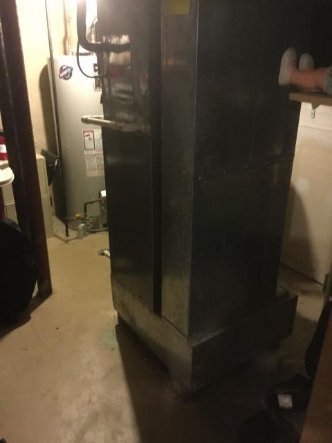 Crystal Lake, IL - No heat service call on a 10 year old 95% efficient 60,000 btu Rheem furnace