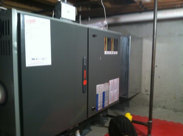 Algonquin, IL - Trane furnace repair