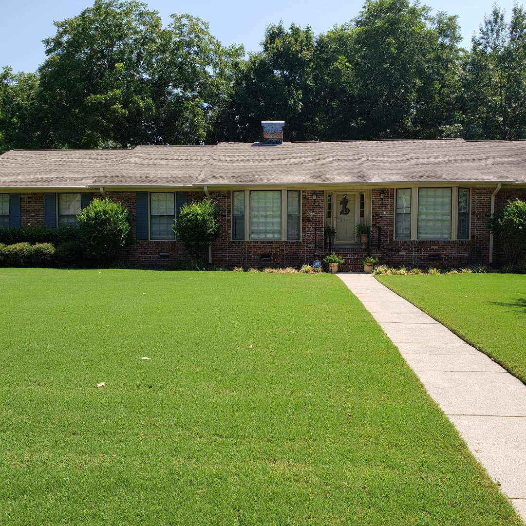Huntsville, AL - At a customers house in Huntsville,AL  needing a roof inspection, call Ridgeline Construction for your free estimate!