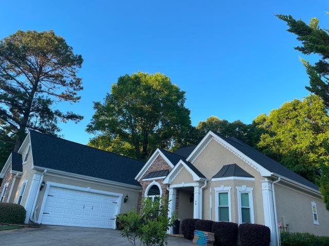 Covington, GA - Roof Installation  Shingles: Charcoal Black Lifetime Architectural