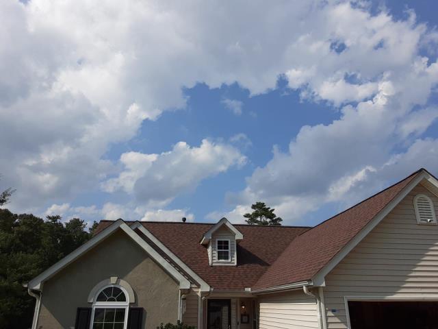 Fairburn, GA - Roof Installation Shingles: Burnt Sienna Lifetime Architectural