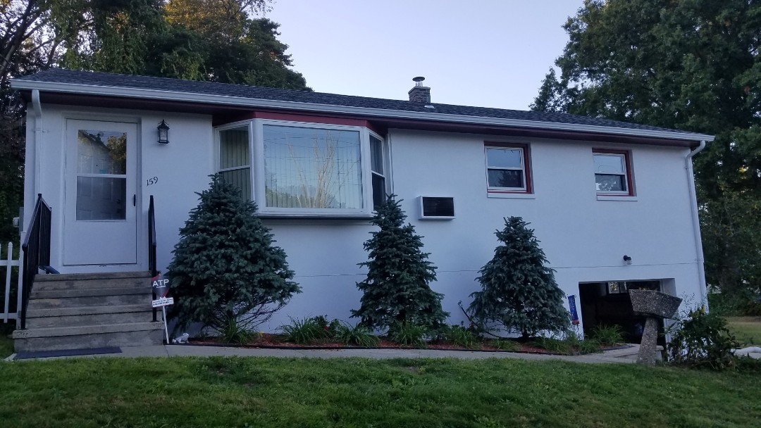Exterior refinished