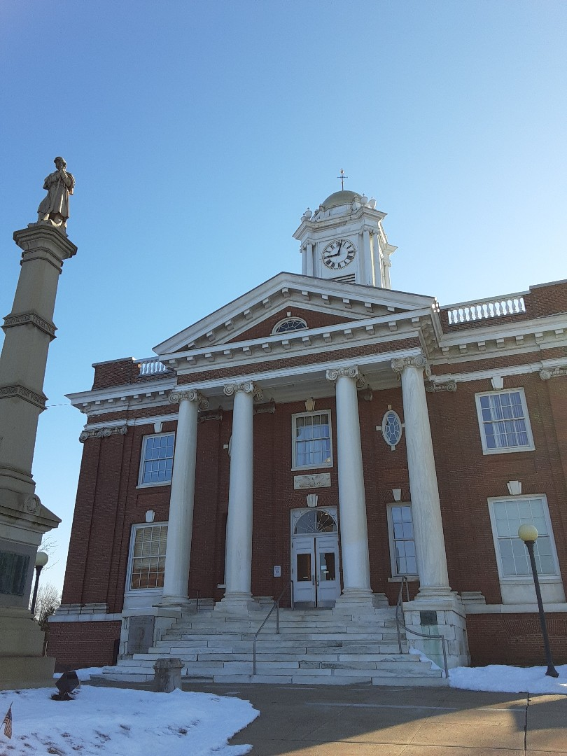 Meriden, CT - Pulling some roofing permits at the Meriden Town Hall!
