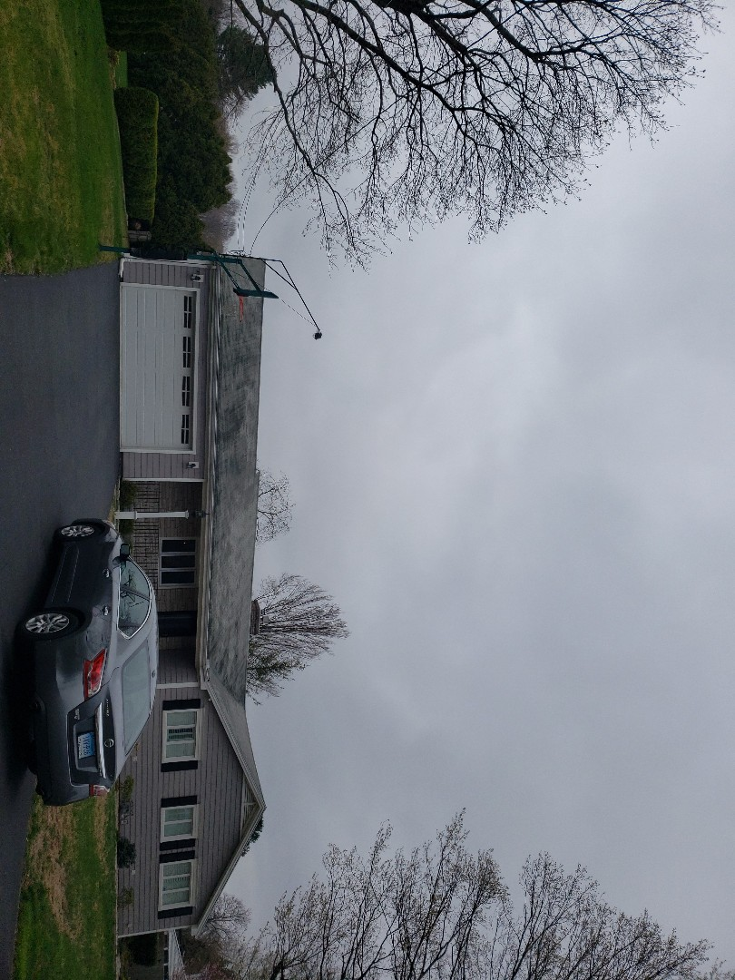 Berlin, CT - Dont let this happen to you!!!....poor ventilation will take years off the life of your roofing shingle....I'm quoting a new GAF Timberline HDZ roof system along with some ventilation upgrades