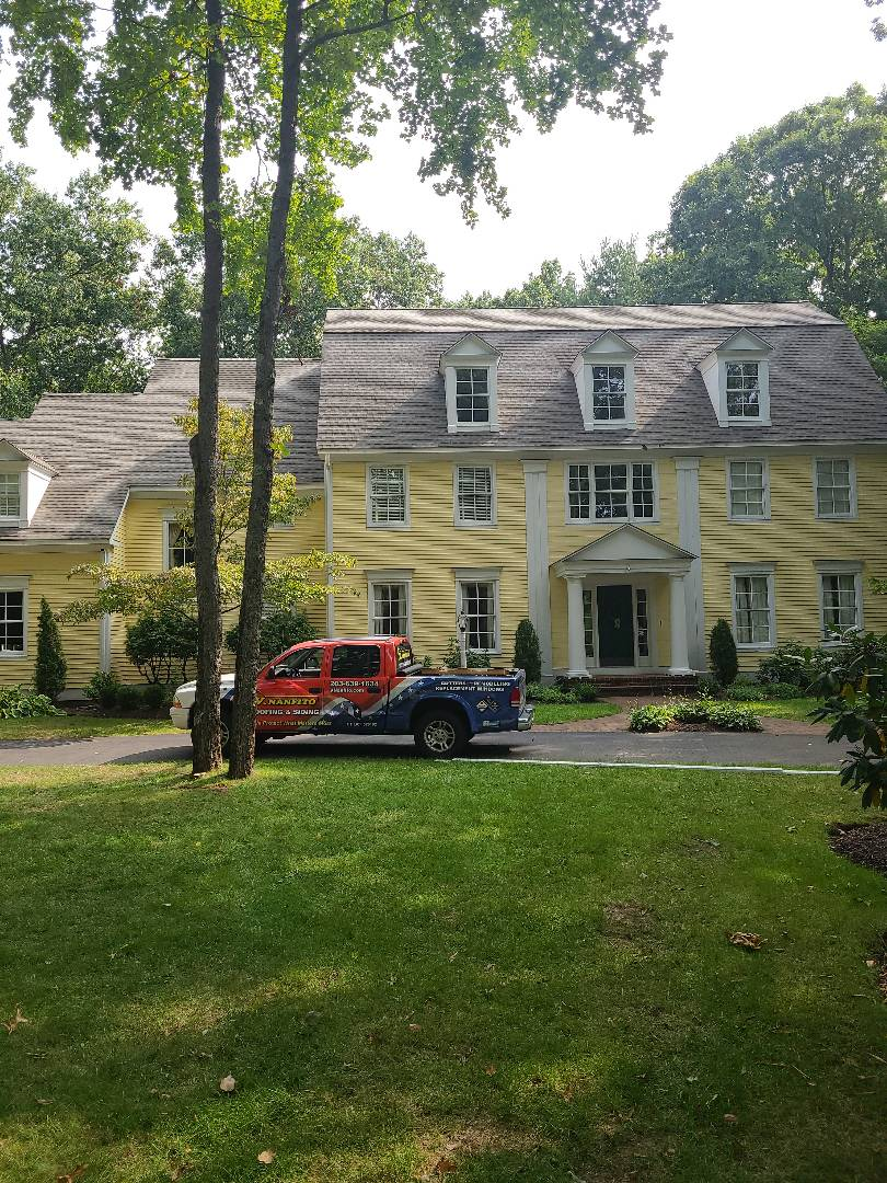 Farmington, CT - Another GAF Timberline HD roof completed after the storm touched down!!