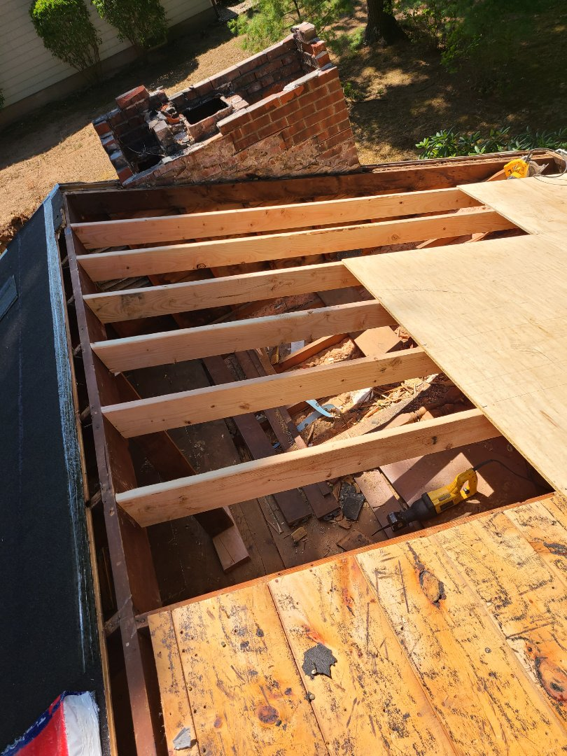 Bristol, CT - Structural repairs. No problem. VNanfito roofing and siding can do it !