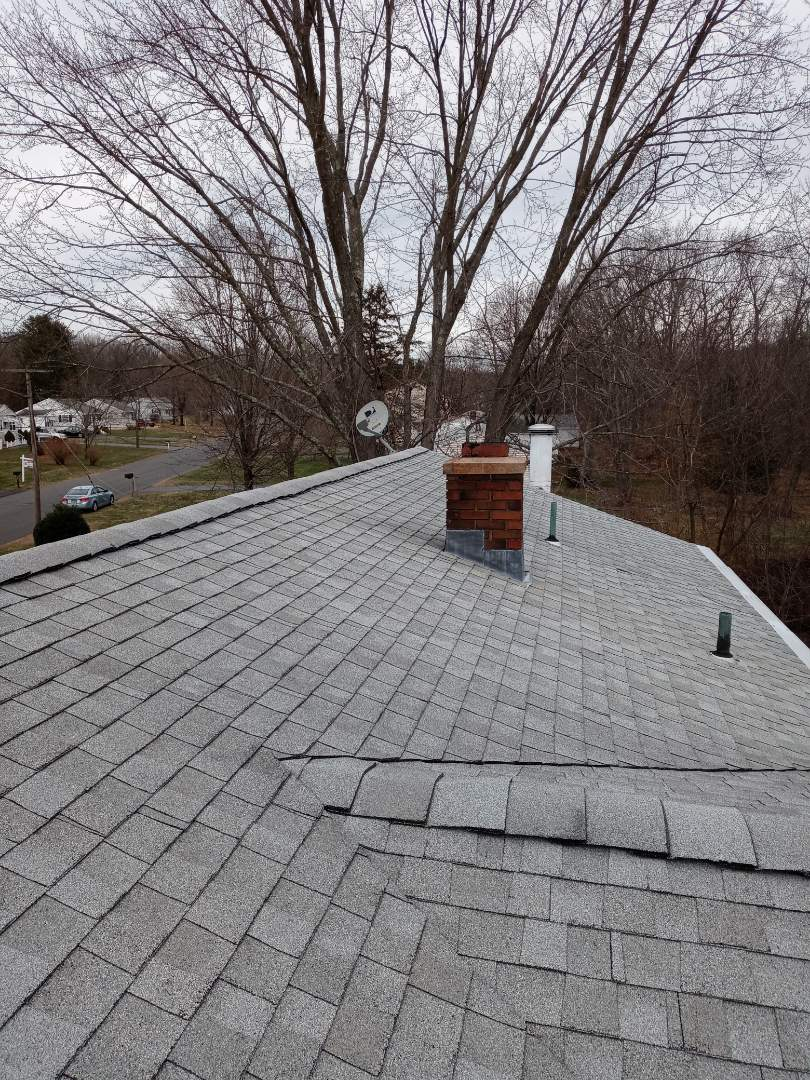 Cheshire, CT - Quoting out a new roof in new skylight system in Cheshire connecticut. Also we are quoting out new gutters and new gutter guards.