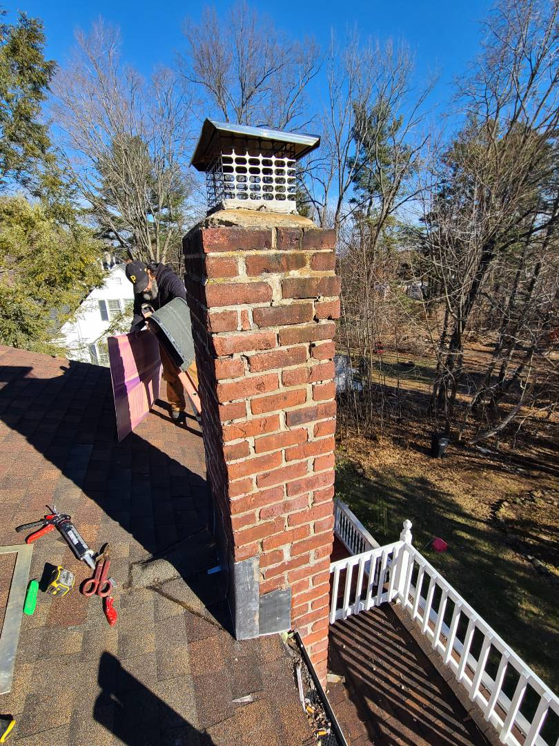 Middletown, CT - Have a leak at your chimney ? Call VNanfito roofing and siding today for a free estimate on any of your home remodeling needs