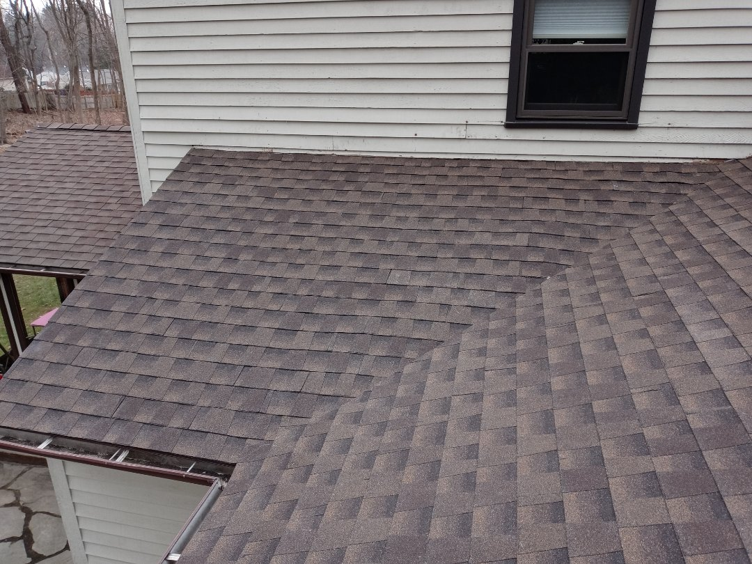Durham, CT - Work completed on this roof in Durham Connecticut no more water is going to come into this home!
