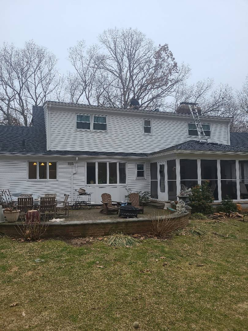 Cheshire, CT - Another roof repair before the storm!!