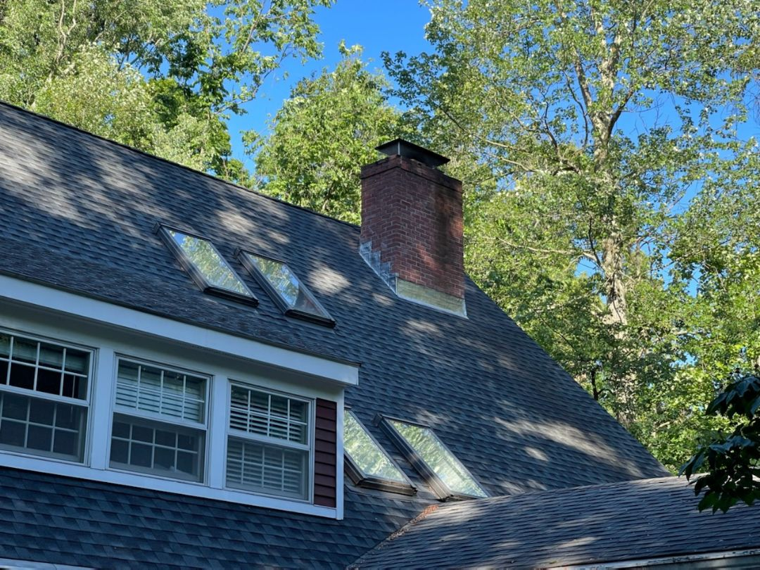 Southington, CT - Another new chimney flashing job completed.  Call vnanfito roofing and siding today for a free estimate on any of your home remodeling needs