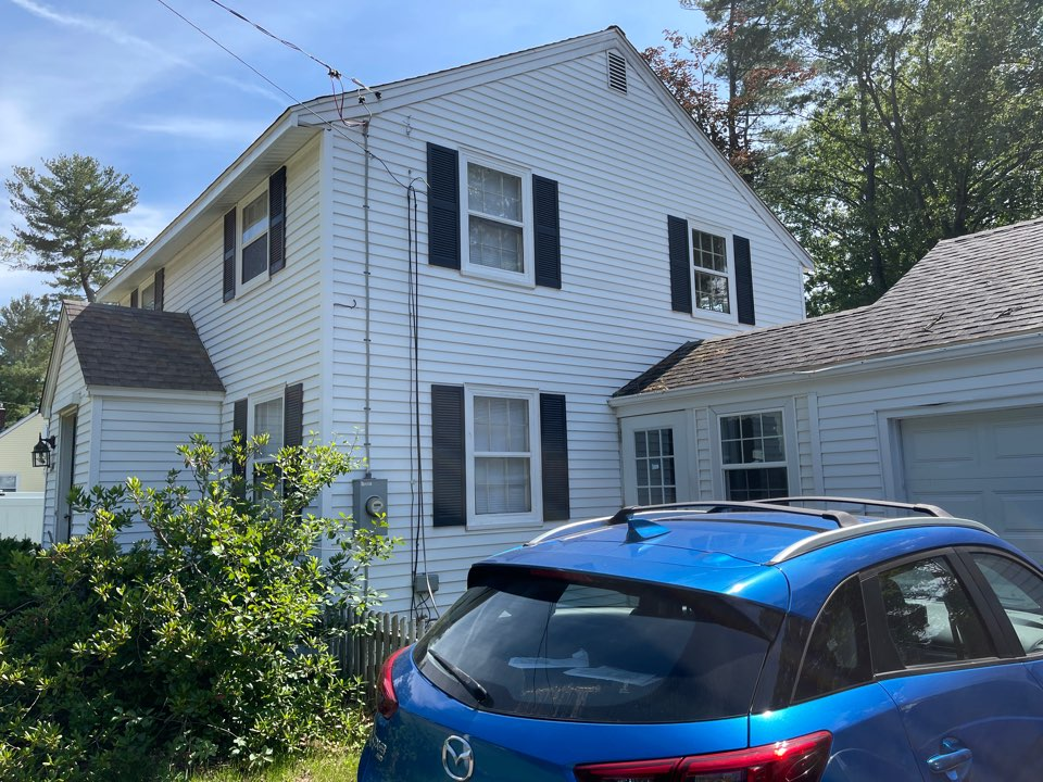 East Hartford, CT - We're providing an estimate for siding.