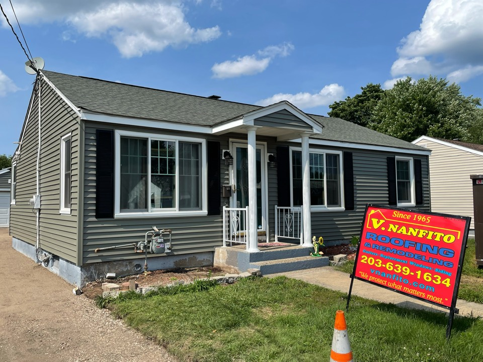 Waterbury, CT - Another siding job completed! Ready for gutters