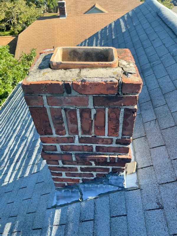 Southington, CT - We can replace your chimney flashing.  Call vnanfito roofing and siding today for a free estimate on any of your home remodeling needs