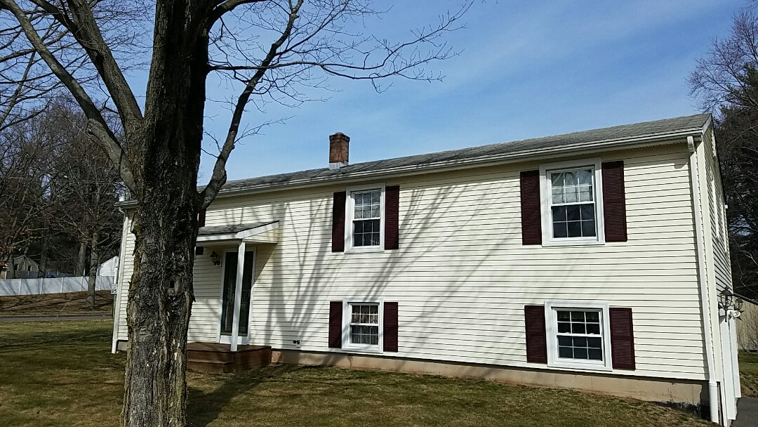 Southington, CT - Signed another contract for a GAF reroof for a family in Southington