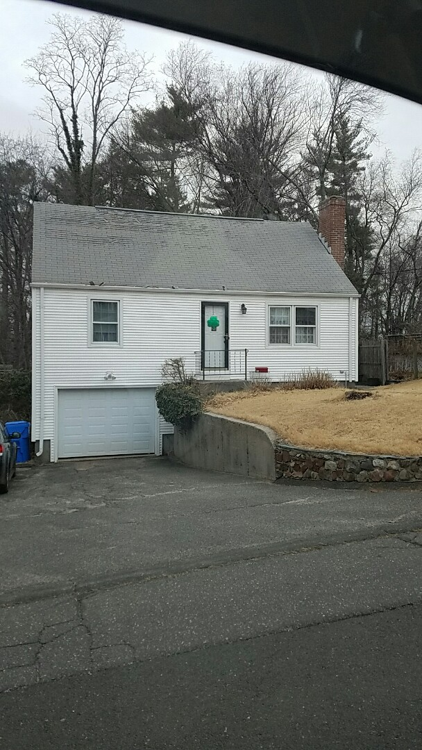 Plainville, CT - Ready to bid on a new GAF reroof with Timberline HD shingles, bathroom remodel,storm and entry doors