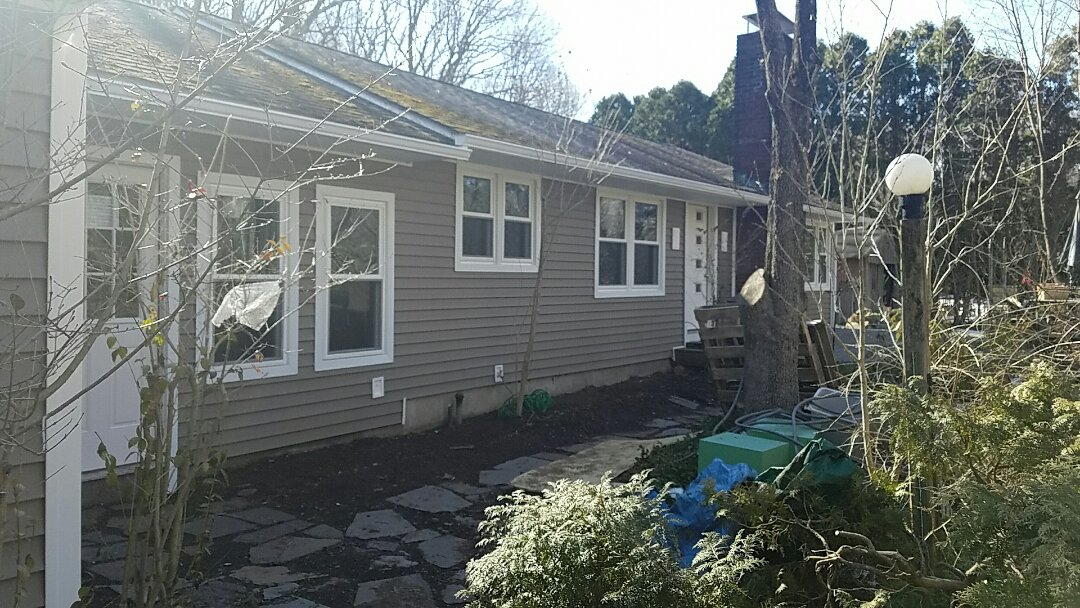 Cheshire, CT - Finishing up this remodeling job for a family in Cheshire