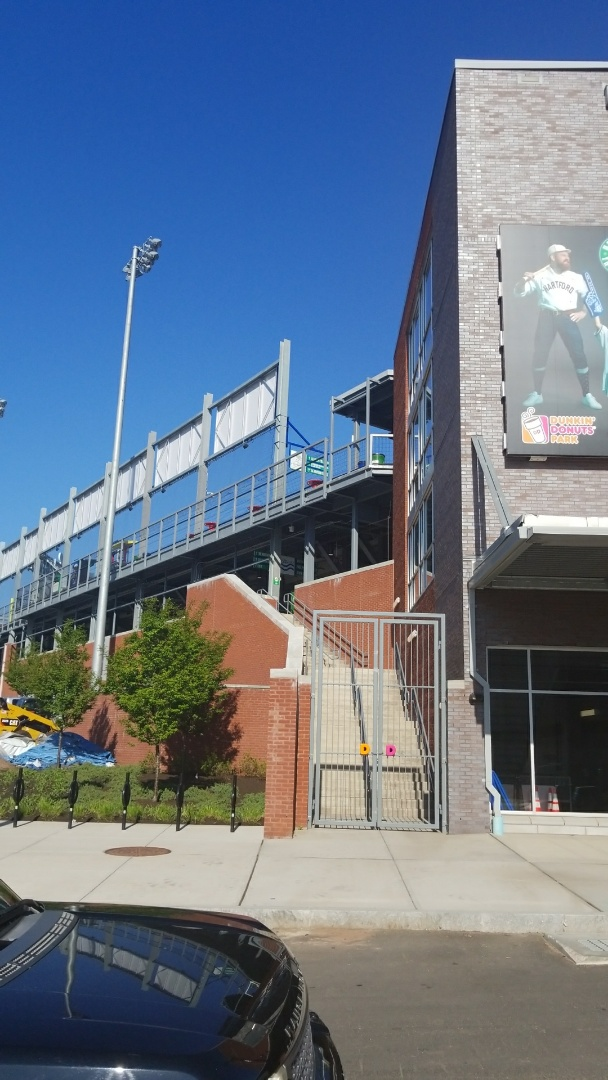 Hartford, CT - Roof repair for the Yard Goats