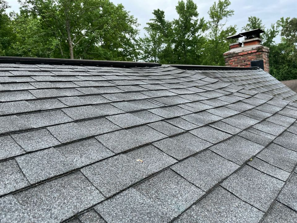 Severna Park, MD - Estimate to replace section of roof failing due to improper ventilation.